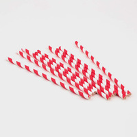 1000Pcs Paper Drinking Straws Party Decor Stripe Colors Wedding Birthday Holiday DropShipping