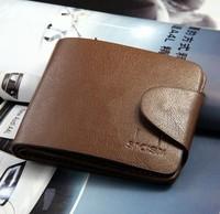 5pcs/lot  Male short design wallet male shaishi wallet fashion male wallet short design wallet