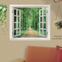 Blank window outdoor wall stickers decoration stickers wallpaper sticker ay823