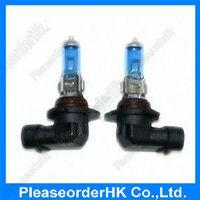 Hot 2pcs H10 Fog Light Bulb Lamp Super White 12V 42W 6000K for Car Motorcycle Free Shipping