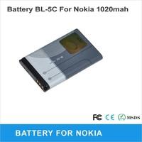 5pcs/lot Battery BL-5C 700mah for Nokia phone