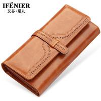 brand wallet women genuine leather long wallets carteiras purse female wallet card holder carteira feminina couro couro 2014