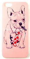 Pink Bulldog with Cigar Pet Funs Phone Case Cover For iPhone 5 iPhone 5S