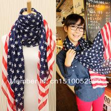 popular flag scarf