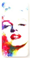Watercolor Colorful Marilyn Monroe Face Phone Case Cover For iPhone 5 iPhone 5S