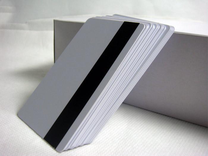 100x blank CR80 ID ISO PVC Credit Card LoCo 1-3 Magnetic Stripe PVC Card free shipping(China (Mainland))