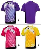 wholesale! Free New 2014  South Korea  Victor men's table tennis men shirt clothing / Badminton T-shirt