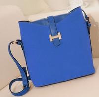 2015 Women Scrub Leather Handbags Fashion Messenger Bags Vintage Shoulder Tote New Designers Bag Brand Casual Handbag WB2055
