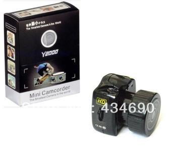 Hot Sell New Smallest 8 Million Pixel hd Mini Portable Wireless Camera(China (Mainland))