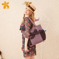 Women's handbag fashion vintage polka dot bow sweet handmade gentlewomen shoulder bag handbags