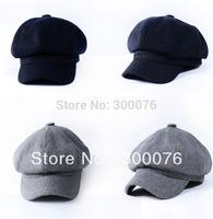 New Ladies wool newsboy hat cabbie cap visor beret dress hat