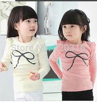 Free shipping,Spring children's long sleeve T shirt,Cotton shirt bottoming shirt TZ18A47