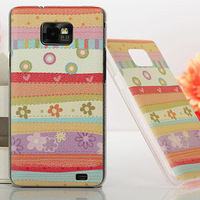 For Samsung Galaxy S2 i9100 Phone Shell Accessories Pouch Skin SII i9100 Case Painting Case