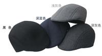 wool Peaked Newsboy Beret  Visor Hat Cap Cabbie beret Gatsby Flat Cap