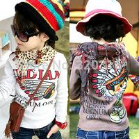 Drop Saling,Spring children's long sleeve T shirt,Cotton Indian T-shirt bottoming shirt cotton T-shirt TZ18A20