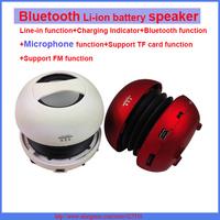 Portable hamburger  Wireless Bluetooth Li-ion battery Speaker Microphone function Handsfree Receive Call FM +TF Card