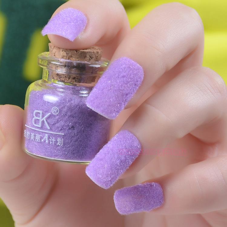 free shipping 10pcs/lot Velvet bk nail polish oil bottle 10 villus noble velvet nail polish oil velvet wool nail art(China (Mainland))