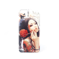 Free Shipping ! Customized Designs 3D sublimation Printing Phone Case for iphone 5C