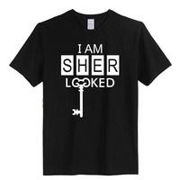 SHERLOCK HOLMES i am sherlocked  MEN T-SHIRT TV TSHIRT  9 style styl free shipping