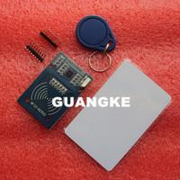 Free shipping MFRC-522 RC522 RFID RF IC card sensor module to send S50 Fudan card,Rf module keychain for arduino