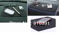Reusable washable multifunctional black foam mobile phone anti slip mat as car dashboard decoration Interior Accessories.