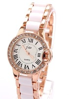 New 2014 Hot  Womens Fashion Original High Quality Quartz dress Wrist Watches, Alloy Strap Watch Fast Delivery