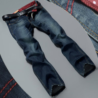 New 2014 high quality straight jeans & men jeans & cultivate one's morality men's trousers pants & men trousers & skinny jeans