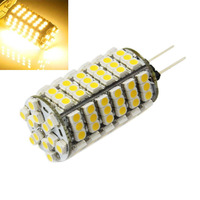 2014 New arrival Hot sale 5.5W DC 12V 720LM G4 120SMD 3528 LED Pure/Warm White Car Home Bulb Light W W FreeShipping & Wholesales