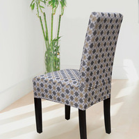 Free Shipping Linen yarn dyed all-inclusive one piece chair cover dining chair set professional customize good workmanship sl04