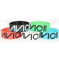 5 pcs/set, free shipping/ AVICII / Silicone bracelet/1 inch Silicone wrist band/ BRACELET/ mix order welcome