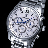 Free postage Sonderbund needle fully-automatic mechanical watch stainless steel mens watch literal