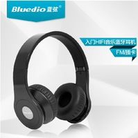 Bluedio B Foldable Bluetooth hifi HD Stereo headset with FM Radio Micro-SD Multimedia player longtime mp3 Free shipping