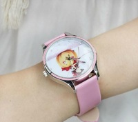 Free postage 2013 kezzi ink vintage cartoon table young girl watch student watch