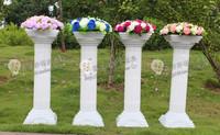 Hot-selling ! plastic roman column translucidus columns2 wedding road cited wedding props