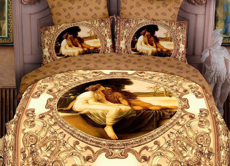 3D 3D denim cotton bedding cotton denim wedding bedding linen canvas foreign trade shipping(China (Mainland))