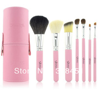 Free Shipping Emily Professional Portable makeup brushes set Cosmetic Brush Kits Set 7pcs in a set
