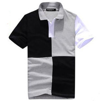 2014 new Good quality men 's polo shirt short sleeve t shirt for men KR238