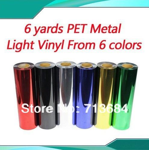 6yards South Korea Heat Transfer Vinyl Film PET Metal light(China (Mainland))