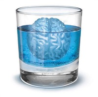 2014 brain freeze ice cubes 4 form Freeze ice Cube tray ,Bar party Lego Romantic cocktail party for Drink ice new tricks Maker