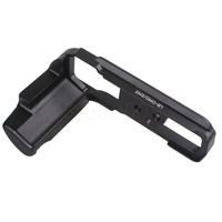 L-Vertical Metal Quick Release Plate Camera Holder Grip For OLYMPUS LB-OMD/EM5