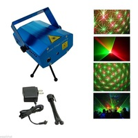 150MW Mini red and green laser stage lights moving party with DJ PARTY tripod laser light flashed the 110-240V50-60Hz