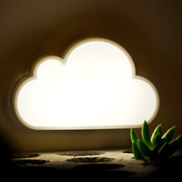 Light control lamp clouds led night light plug in energy saving lamp clouds wall lamp aisle bed-lighting