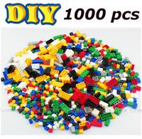 Building Blocks 1000 PCS of Bricks Construction Sets 3D Educational Bricks Toys for Children Compatible Free Shipping Gift