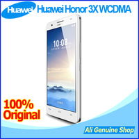 In stock! Huawei Honor 3X G750 WCDMA MTK6592 Octa Core 1.7GHz Android 4.2 5.5 inch HD 3G 13.0MP Phone+ Gifts,DHL Free shipping