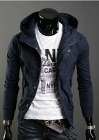 Free Shipping The new Spring 2014 Men's jacket coat Korean fashion Slim casual men's jacket
