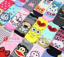 FD168 Fashion Cute Sweet Women Girl Princess Queen Cartoon Cotton Socks ~1 pair~(China (Mainland))