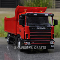 DIE CAST METAL 1/43 SCANIA TIPPER MODEL TIPPING VEHICLE DUMP TRUCK REPLICA