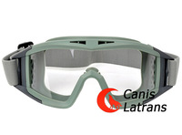 Hot Sale Fashion Glasses Tactical Goggles / Protective Glasses With PC Lens CL8-0009GRN