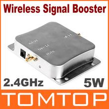 5W 2.4GHz WiFi Wireless Signal Booster Broadband Amplifier(China (Mainland))
