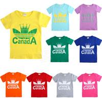 2014 summer pattern boys clothing girls clothing baby child short-sleeve T-shirt tx-1901